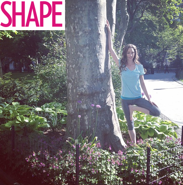 Yoga Anywhere with SHAPE