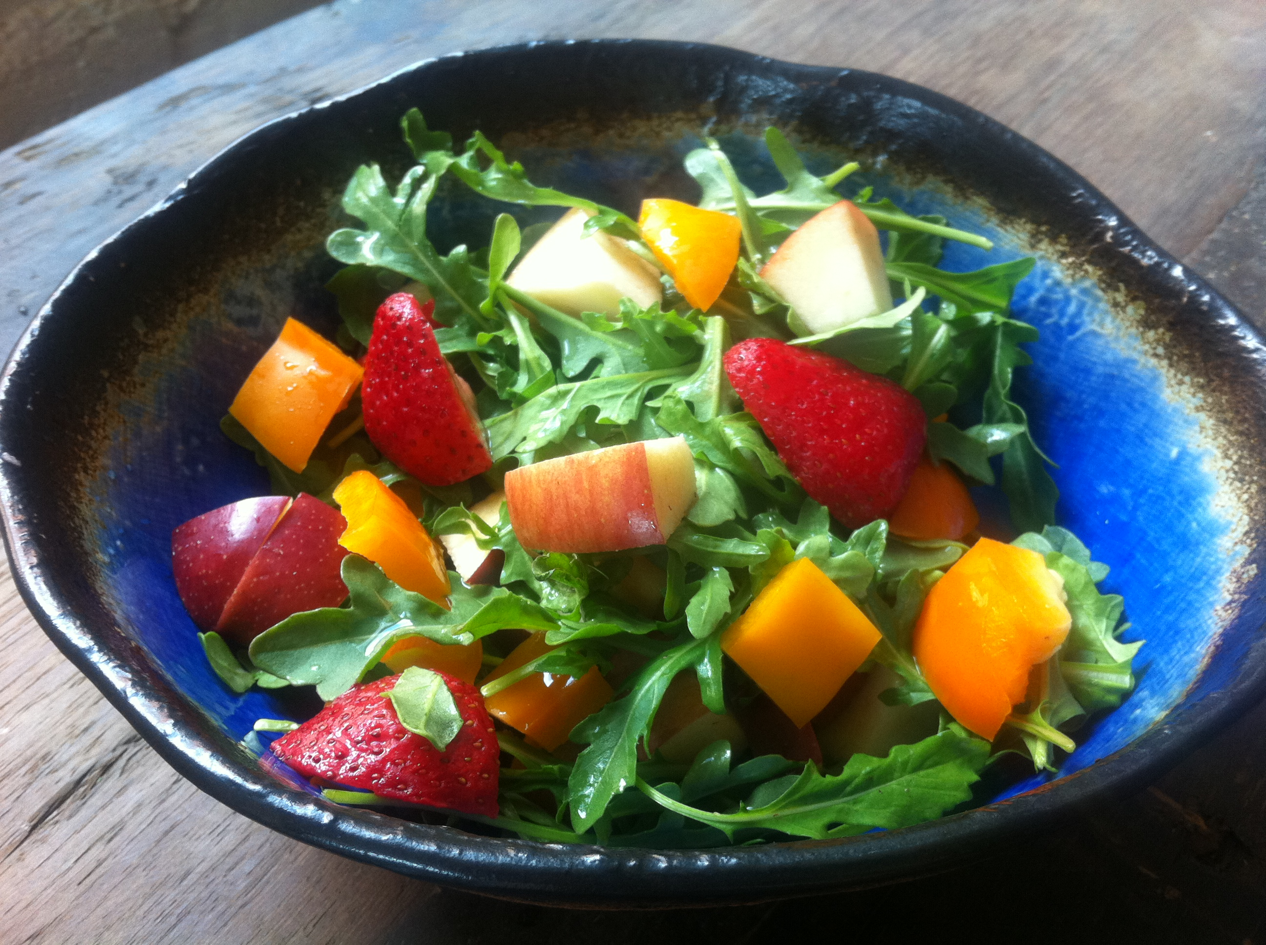 Strawberry Arugula Surprise