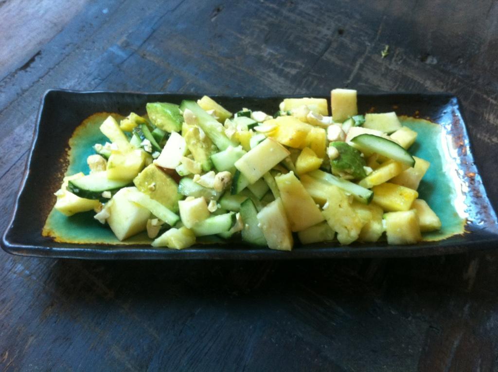 Pineapple Cucumber Cashew Surprise!