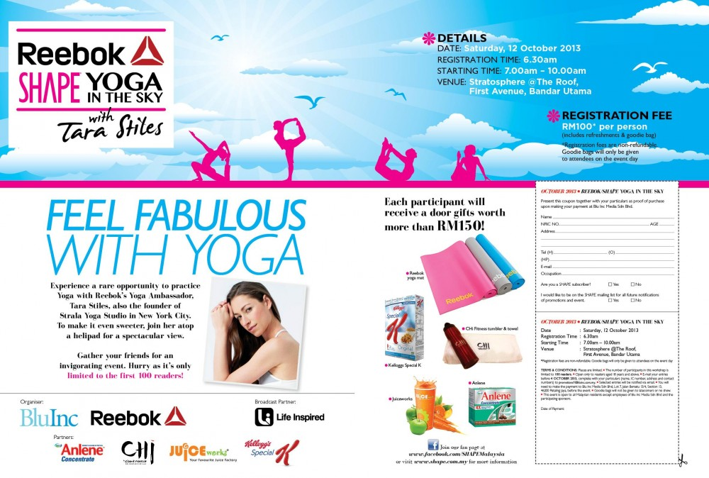 Malaysia. Yoga in the Sky!