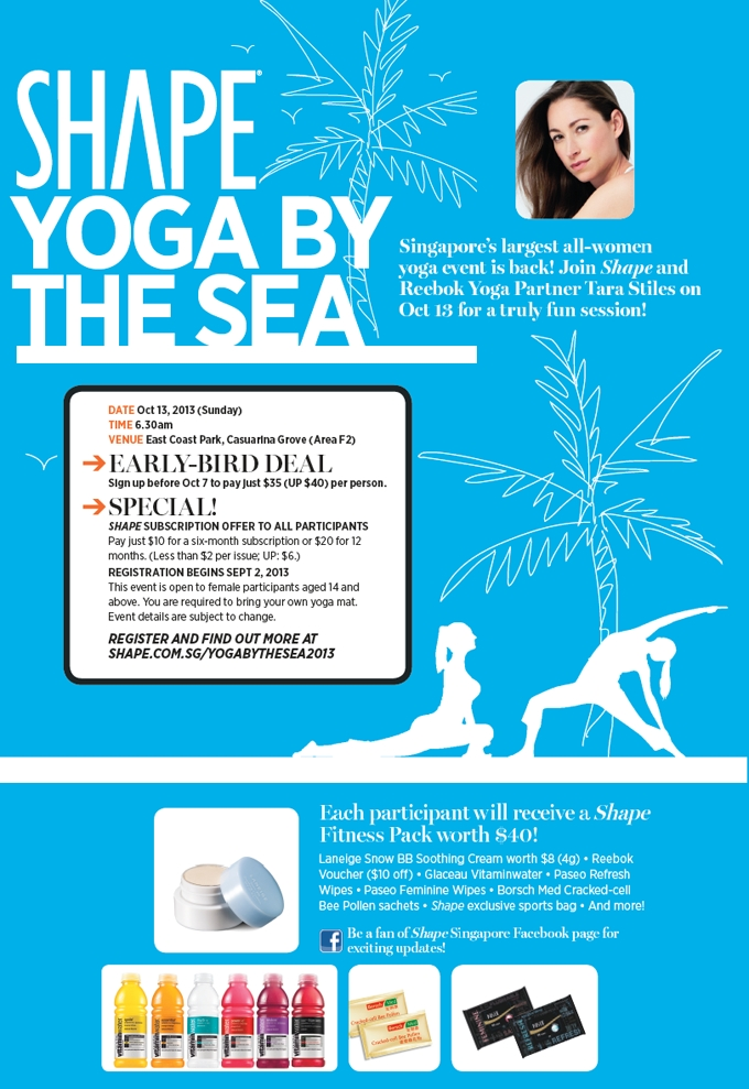 Yoga by the Sea in Singapore!