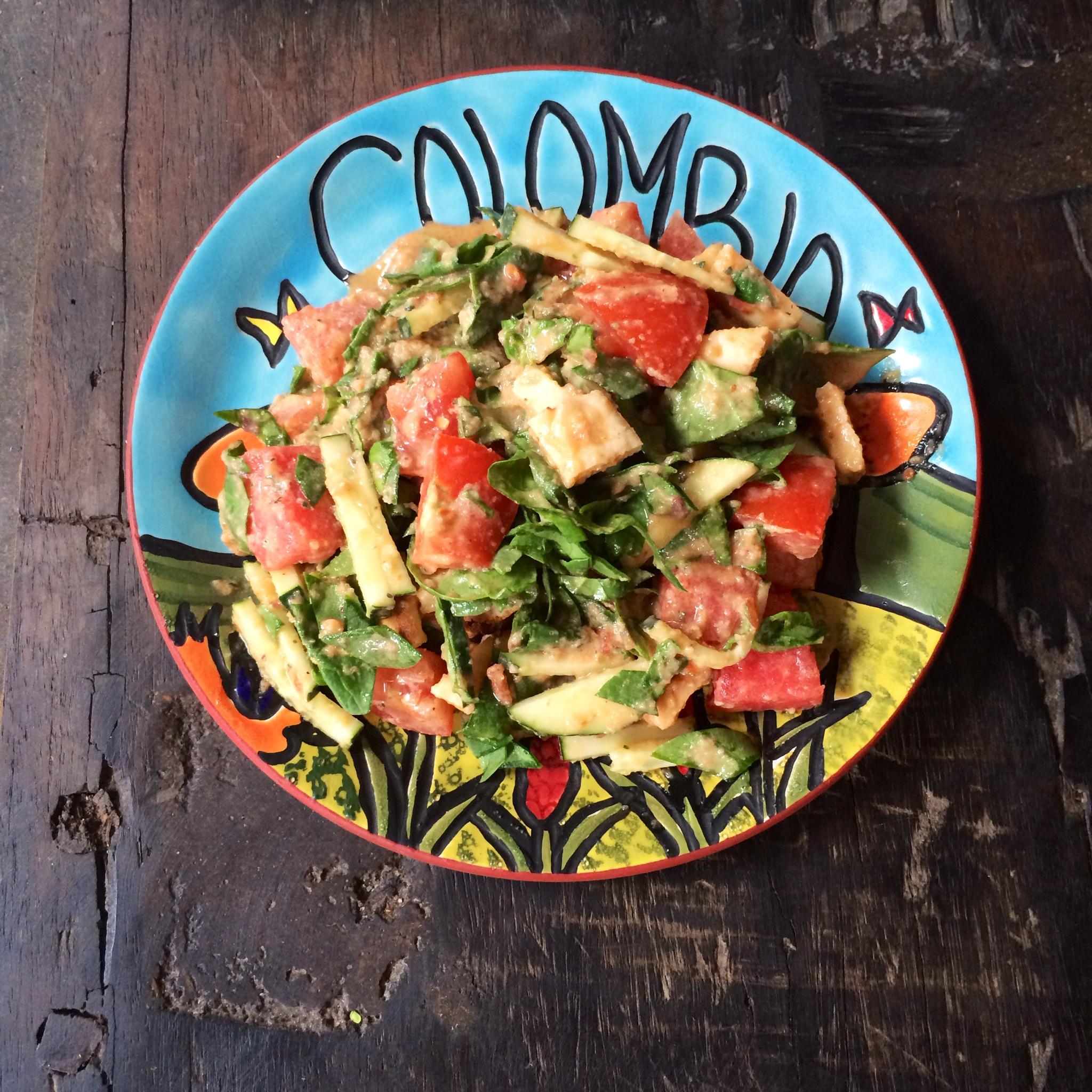 Spicy Fresh Summer Salad