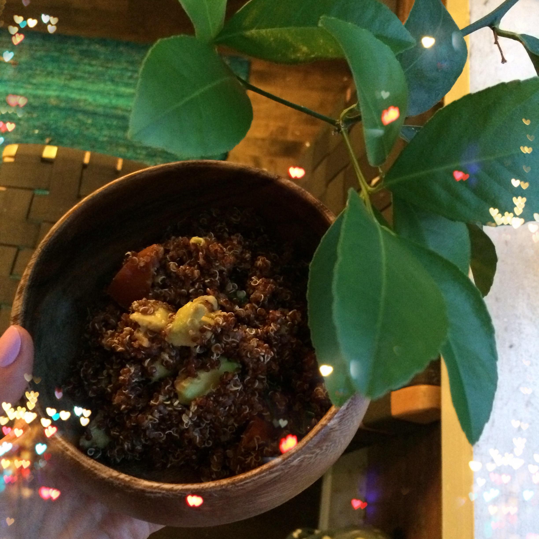 Creamed Quinoa Veggie Surprise