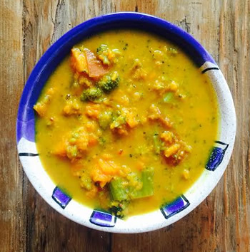 Broccoli Sweet Potato Soup